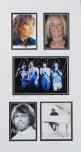 ABBA Autograph Display